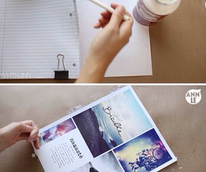 diy, notebook, and tumblr image