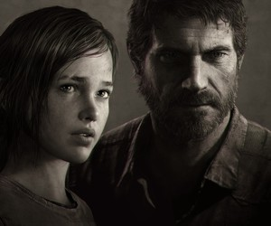 the last of us, Joel, and ellie image