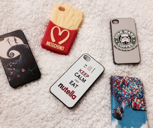 iphone, nutella, and pixar image