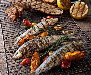 fish and food image