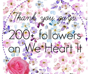 followers, we heart it, and 200 image