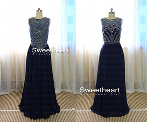 evening dress, prom dress, and dress for prom image