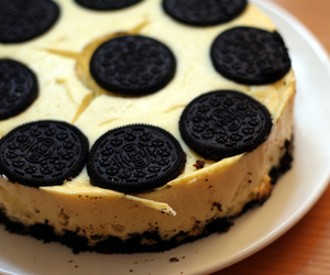 cake, oreo, and dessert image