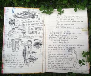 grunge, art, and pale image