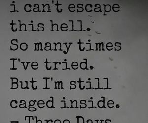 three days grace, music, and quote image