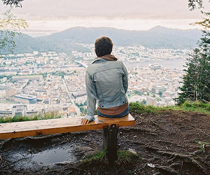boy, city, and photography image