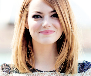 emma stone, hair, and actress image