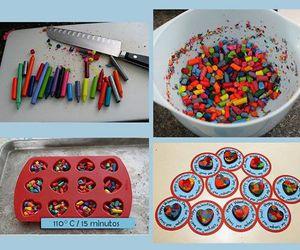 colors, crayon, and diy image