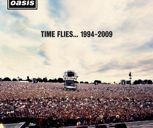 oasis and live forever image