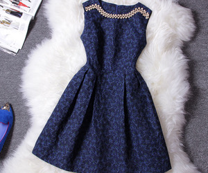 dress, beautiful, and outfit image
