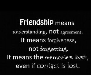 contact, friendship, and quotes image