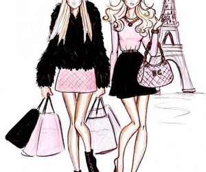 paris, fashion, and blonde image