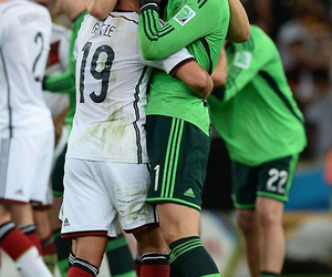 manuel neuer, mario gotze, and germany image