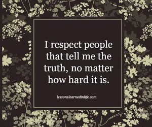 honesty, life, and respect image