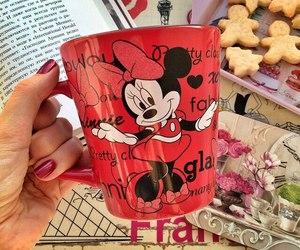 mug and red image