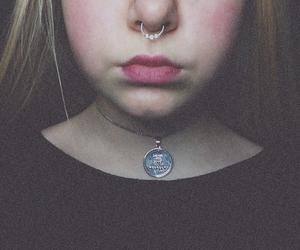 black, Grudge, and lipstick image