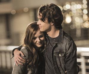 couple, hug, and jamie blackley image
