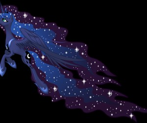 MLP and princess luna image