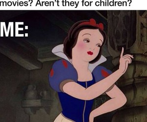 disney, funny, and snow white image