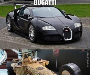 black, bugatti, and car image