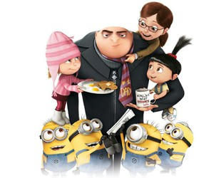 minions, family, and despicable me image