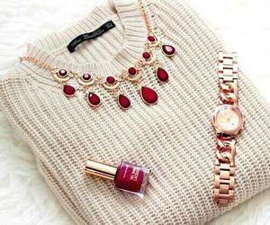 girl, jewels, and outfit image