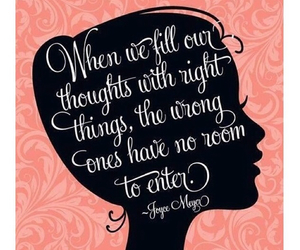 quote, thoughts, and life image