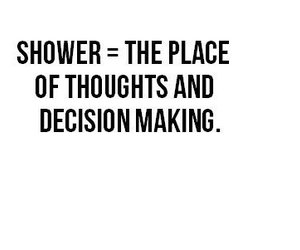 quotes, shower, and text image