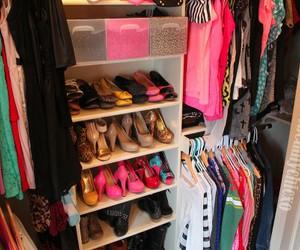 closet, shoes, and fashion image