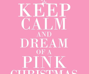 christmas, Dream, and pink image