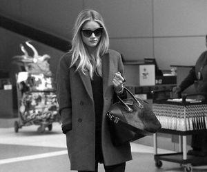 fashion, model, and black image