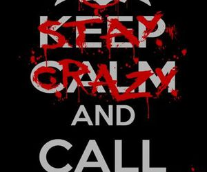 batman, joker, and keep calm image