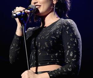 beautiful, demi lovato, and singing image
