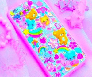 pink, phone case, and bright image