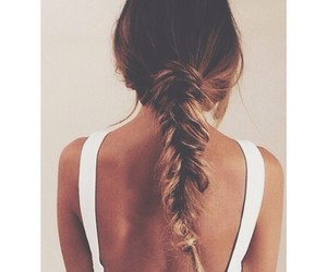 blond, girl, and hair style image