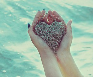 heart, hands, and water image