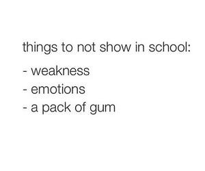 emotions, funny, and gum image
