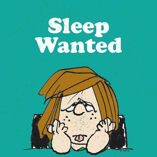 sleep, peppermint patty, and monday image