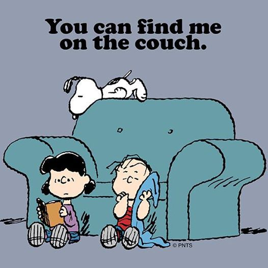 couch, Lazy, and Linus image
