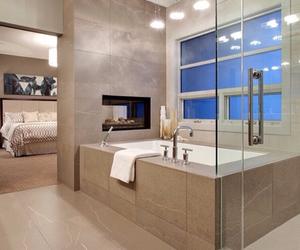 bathroom and bedroom image