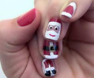 christmas, nail art, and winter image