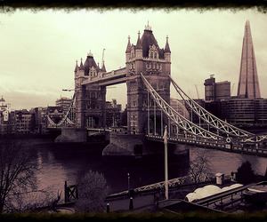 explore, london, and tower bridge image