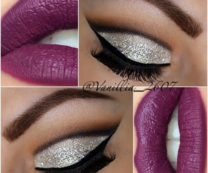 luxury chic style make up image