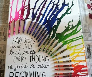 quotes, crayon, and life image