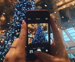 christmas tree, merry christmas, and new year image