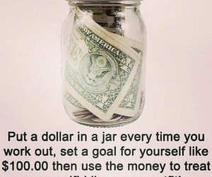 workout, fitness, and money image