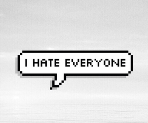 hate, everyone, and grunge image