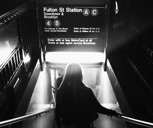girl, travel, and black and white image