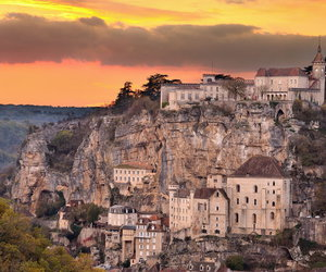 architecture, france, and landscapes image