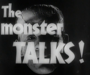 black and white, horror, and vintage image